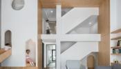Khám phá ý tưởng thiết kế nội thất nhà ở cho gia đình 2 con nhỏ