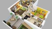 Top 30 mẫu thiết kế căn hộ chung cư độc đáo không nên bỏ qua