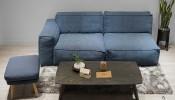 10 mẫu đôn sofa gỗ ấn tượng cho không gian phòng khách