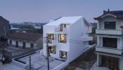 Say đắm trước vẻ đẹp của ngôi nhà màu trắng giữa làng quê Tây An ( Trung Quốc )