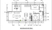 Tư vấn thiết kế nhà cấp 4 đẹp có gác lửng, diện tích 100m2