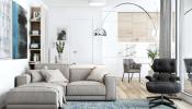 3 mẫu thiết kế căn hộ chung cư 50m2 tận dụng tối đa màu trắng