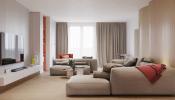 Thiết kế căn hộ chung cư 175m2 theo phong cách nội thất Retro