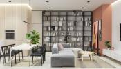 Combo phòng khách - phòng ăn: 51 hình ảnh và lời khuyên bố trí không gian mở