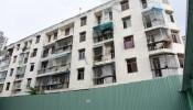 Hình ảnh tòa chung cư nghiêng cần phá dỡ gấp trên đất vàng Sài Gòn