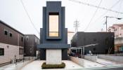 Mê mẩn trước vẻ đẹp của 'ngôi nhà siêu mỏng' Slender House tại Nhật
