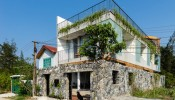 Ngôi nhà không tường đặc biệt ở Quảng Nam