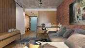 Vẻ đẹp cá tính bên trong căn hộ Studio 56m2