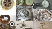 Hướng dẫn tẩy cặn canxi để làm sạch inox trong phòng tắm