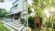 Khám phá không gian sống xanh mát bên trong Alen House tại ngoại ô Thượng Hải
