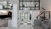 """Chỉ với 2 gam màu đen - trắng, Apartment in Lviv đã chứng minh rằng """"đơn giản là sự tinh tế cuối cùng"""""""