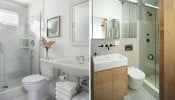 Hướng dẫn bố trí lavabo và sen vòi hợp lý cho phòng tắm có diện tích nhỏ
