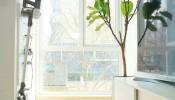 Thiết kế nội thất thông minh của căn hộ 40m2 với tông màu trắng chủ đạo