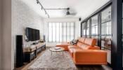 Phong cách Scandinavian mang hơi thở cổ điển bên trong căn hộ Yishun Avenue 9