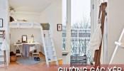 'Giường gác xép' - Giải pháp tối ưu cho những ngôi nhà có diện tích nhỏ