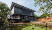 Hoang Tuong House and Studio - Ngôi nhà sàn thời hiện đại