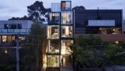 Nét hấp dẫn táo bạo của ngôi nhà nhiều tầng ở Melbourne