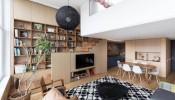 Những điều thú vị trong cấu trúc căn hộ Apartment F+B