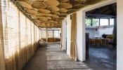 'Ngôi nhà mẹt' ấn tượng mang những kí ức của thôn quê bình dị trong lòng Hà Nội