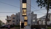 Tiny Tower: Ngôi nhà ống mini ấn tượng tại Hoa Kỳ