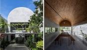 Khám phá hệ mái vòm độc đáo trong ngôi nhà Nhà Đồng Phú