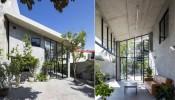 Nhà Bảo Ninh: Ngôi nhà như hòa làm một khi các không gian gần như không có sự ngăn cách