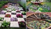 Vườn chia ô -  điểm nhấn ấn tượng cho không gian sống