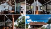 Ngôi nhà mang kiểu kiến trúc pha trộn đã tạo nên sự trọn vẹn cho YT House