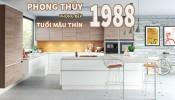 Phong thủy nhà bếp tuổi Mậu Thìn 1988 chính xác nhất