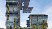 Những ví dụ điển hình cho các công trình xanh với mặt tiền sống động