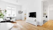 Phong cách Bắc Âu trong căn hộ nhỏ mê hoặc người ngắm