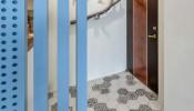 Ấn tượng với cách phối màu độc đáo trong căn hộ phong cách Retro