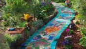 Làm bừng sáng ngôi nhà với nghệ thuật trang trí Mosaics