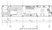 Tư vấn thiết kế nhà phố 1 trệt 2 lầu, chi phí gần 200 triệu đồng