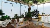 Tổng hợp 10 mẫu thiết kế vườn sân thượng đẹp cho nhà phố