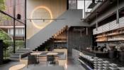 Một thiết kế quán cà phê mới ở Bangkok thu hút với phong cách nội thất Chiết trung ( Eclectic)