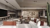 Thiết kế nội thất căn hộ chung cư sang trọng với không gian yên tĩnh