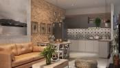 Học cách bài trí nội thất thông minh trong căn hộ 25m2