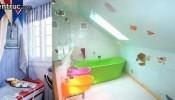 Các mẫu trang trí phòng tắm cực xinh xắn cho bé yêu của bạn