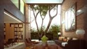 Choáng ngợp với mẫu trang trí phòng khách đẹp tận dụng tối đa không gian