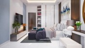 Thiết kế nội thất chung cư hợp phong thủy cho gia chủ mệnh Kim