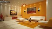 Thiết kế nội thất phòng khách chung cư hợp phong thủy đón tài lộc, may mắn