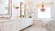Tư vấn mẫu gạch lát nền giúp phòng tắm thêm ấn tượng