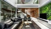 Cầu thang xoắn ốc: điểm nhấn đặc biệt trong ngôi nhà tại quốc đảo Singapore