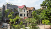 Vẻ đẹp rực rỡ của ngôi nhà hoang sau cải tạo