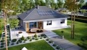 10 mẫu nhà cấp 4 nông thôn mái tôn giả ngói đẹp đến mê mẫn