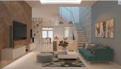 Căn biệt thự 3 tầng ngọt ngào với những gam màu pastel dịu nhẹ