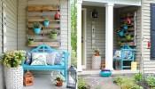Mãn nhãn với 10 ý tưởng trang trí hiên nhà vừa đẹp vừa tiết kiệm