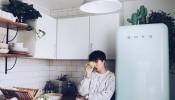 Mê mẩn trước vẻ đẹp trong căn bếp vintage của cô gái độc thân