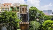 Ánh nắng là một loại 'vật liệu' khiến ngôi nhà trở nên lung linh và quyến rũ